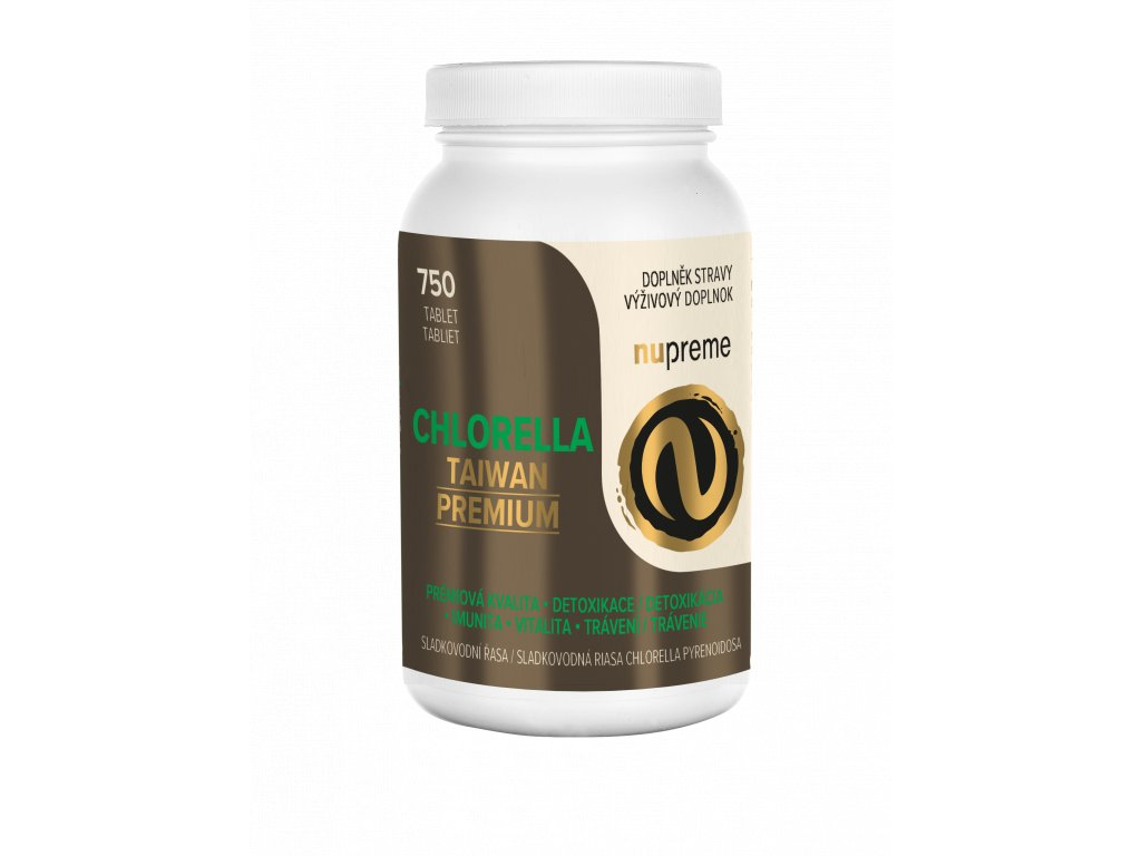 nupreme chlorella TAIWAN pyrenoidosa