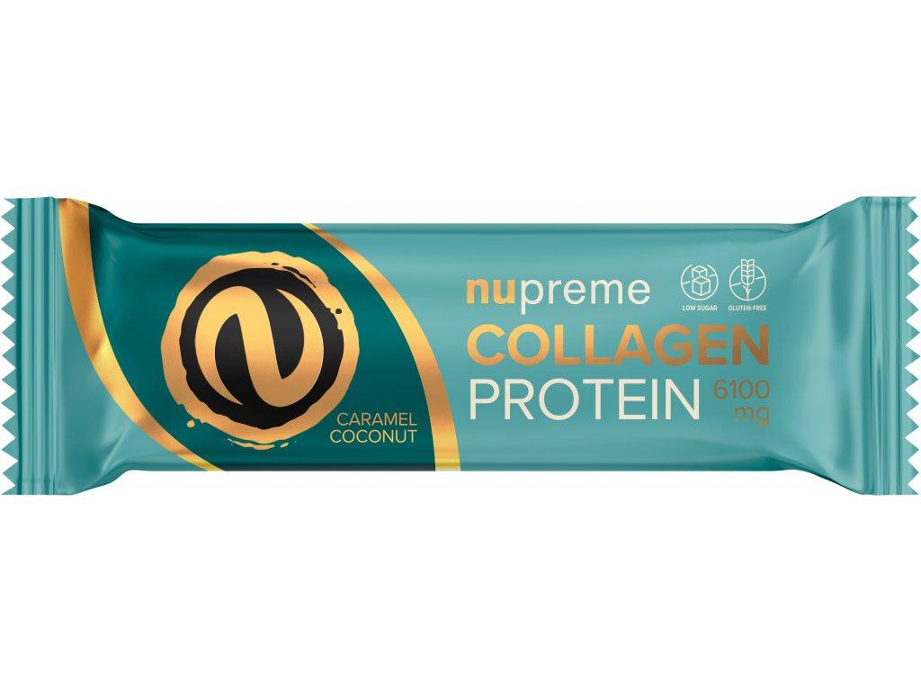 proteinová tyčinka s kolagenem kokos a karamel nupreme
