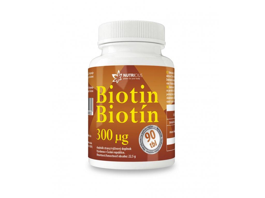 Biotin 90 tbl Nutricius