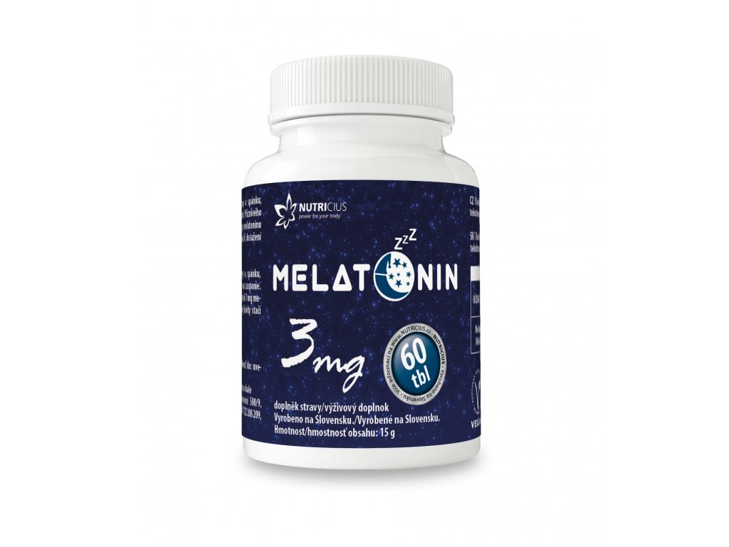 Melatonin 60 tbl Nutricius