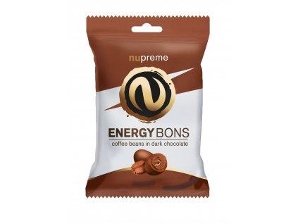 Energy Bons tmavá čokoláda