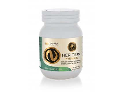 nupreme hericium extrakt 30% polysacharidů