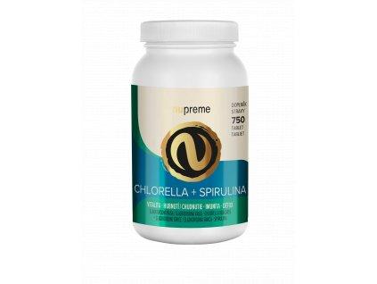 nupreme NEBIO chlorella spirulina render imunita detox podpora hubnutí