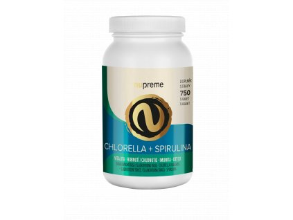 nupreme NEBIO chlorella spirulina render