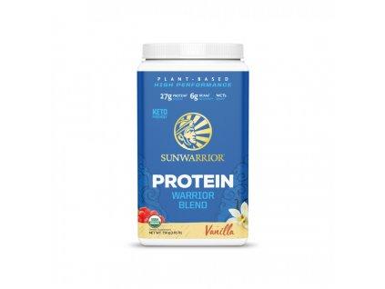 protein blend bio vanilkovy sunwarrior