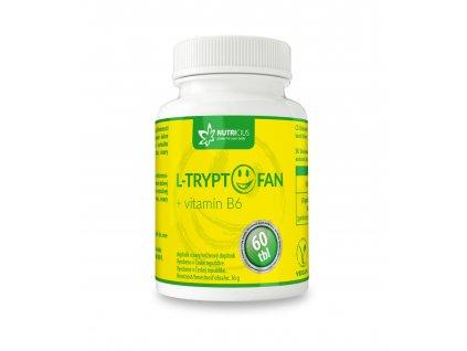 L-Tryptofan + Vit. B6 60 tbl Nutricius