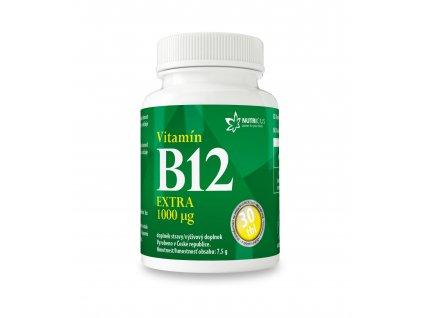 Vitamín B12 EXTRA 30 tbl Nutricius