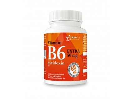 Vitamín B6 EXTRA 60 tbl Nutricius