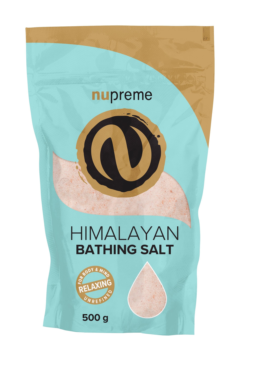 Levně Himalájská sůl růžová koupelová 500g NUPREME