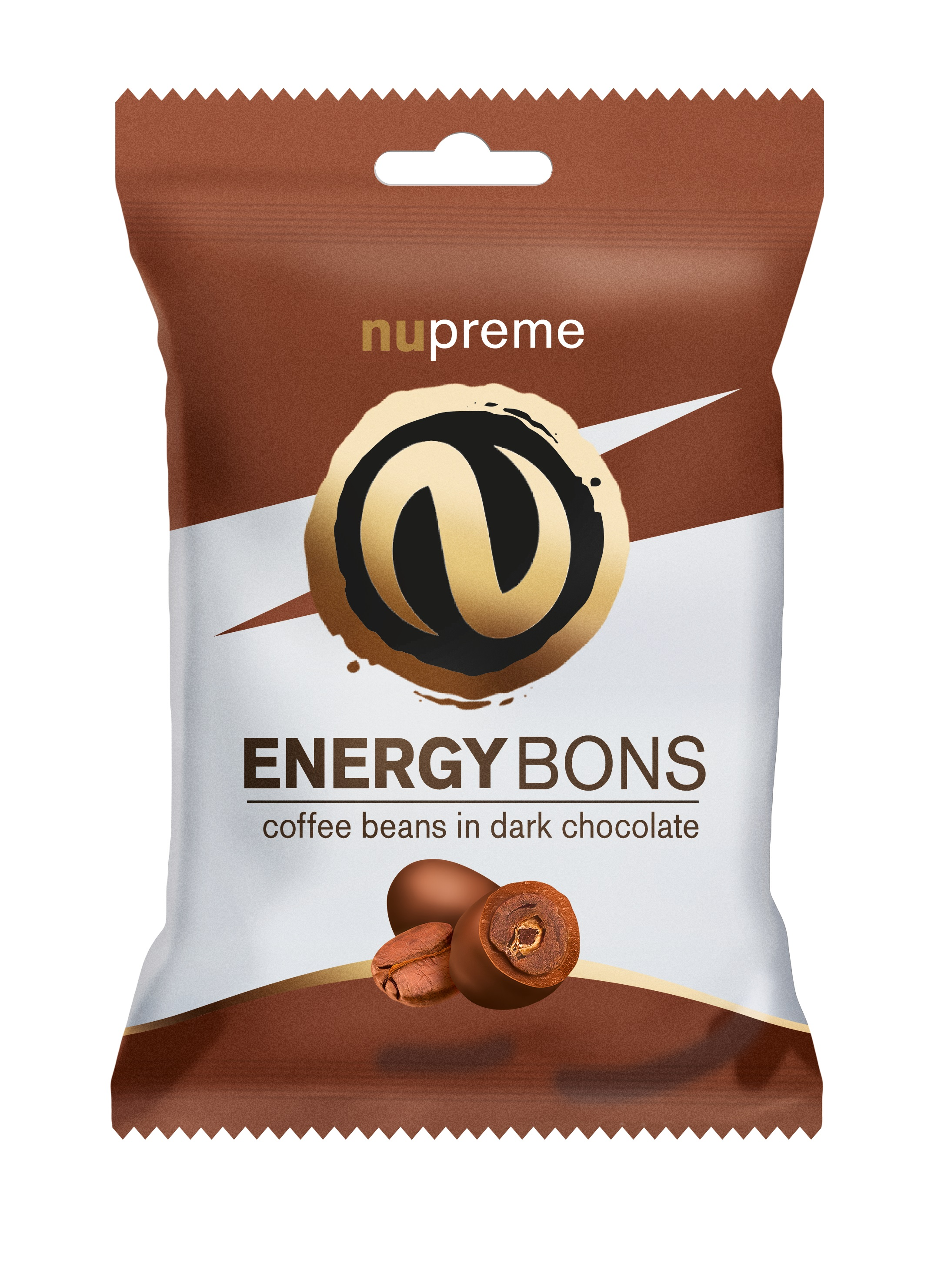 Levně Energy Bons tmavá čokoláda 70g NUPREME