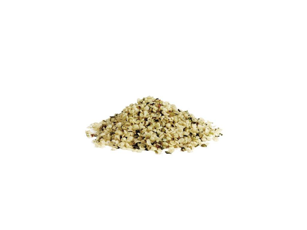 bio konopne seminko loupane