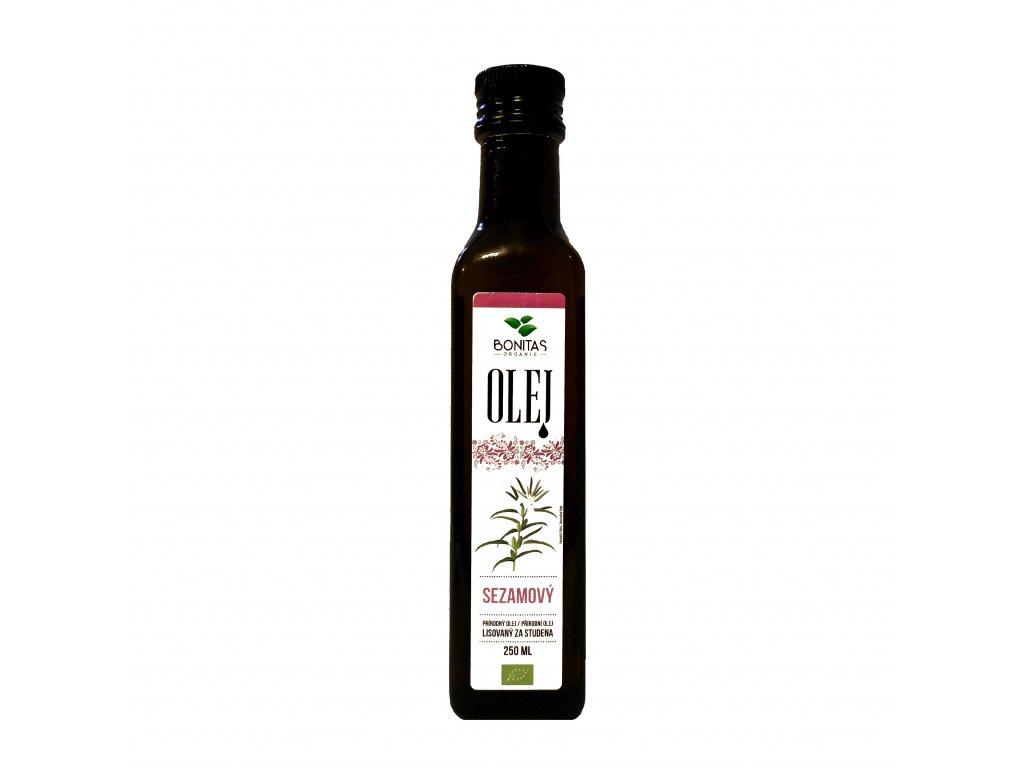 bio sezamovy olej bonitas 250ml