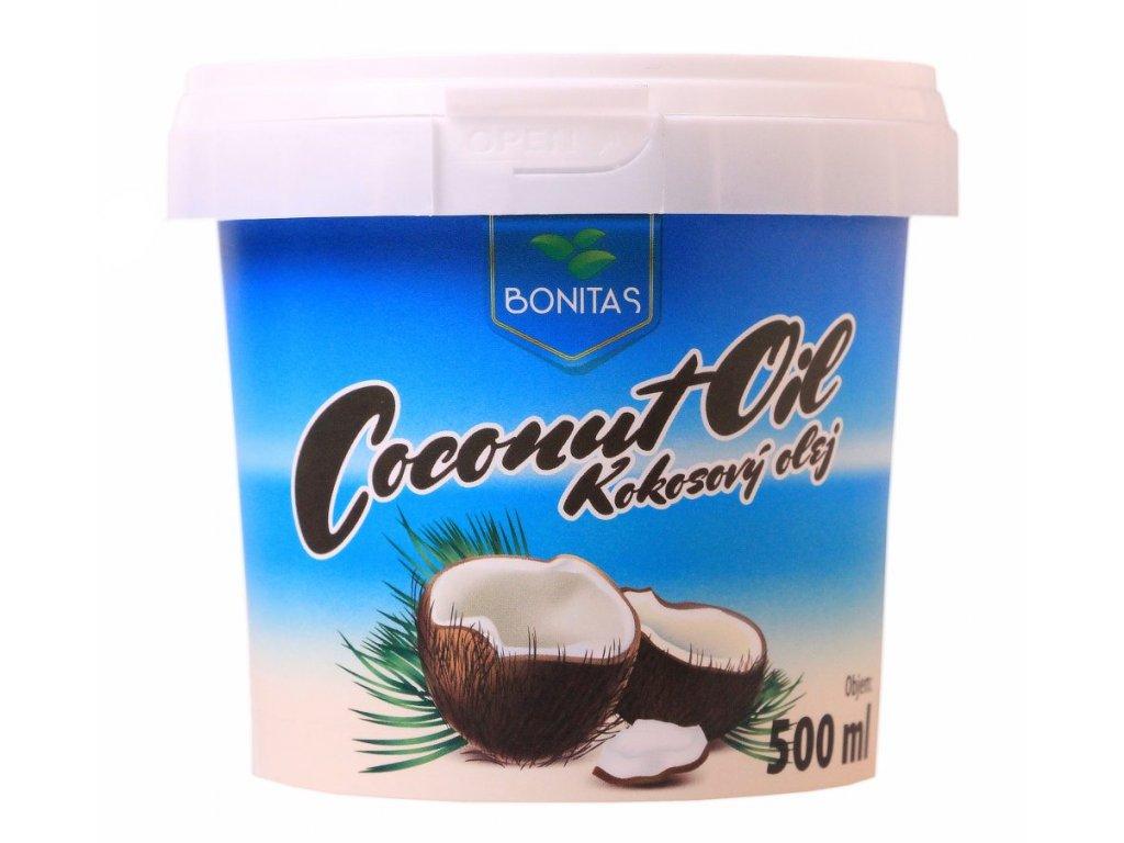 kokosovy olej bonitas 500ml