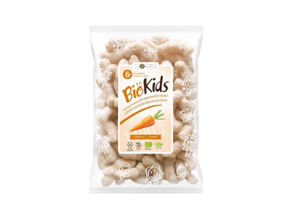 BIO Křupky pro deti mrkva BIOKIDS 55g