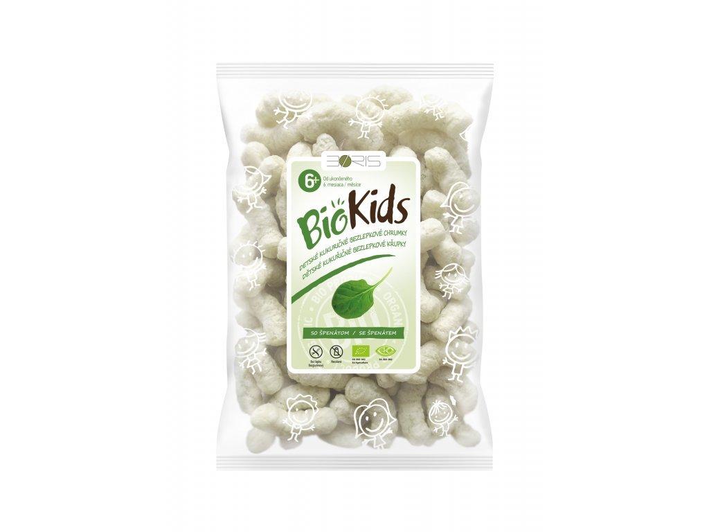 BIO Křupky pro děti špenát BIOKIDS 55g