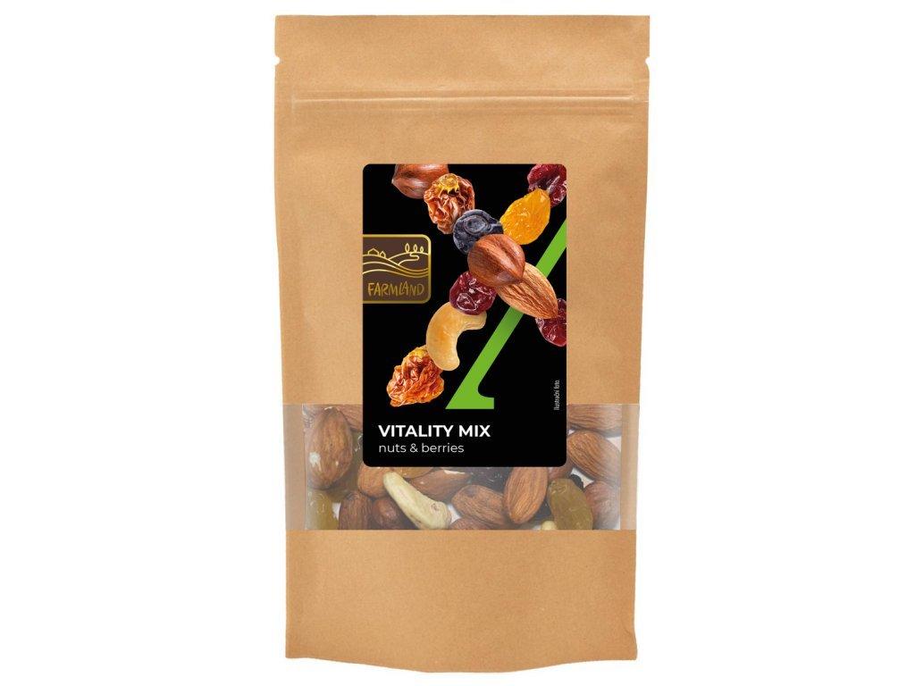 Vitality mix - směs ořechu a ovoce FARMLAND 200g