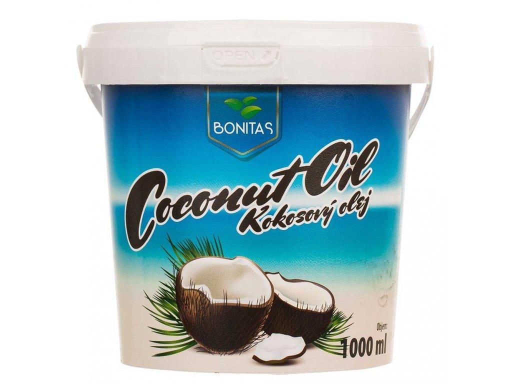 Rafinovaný kokosový olej BONITAS 2000ml
