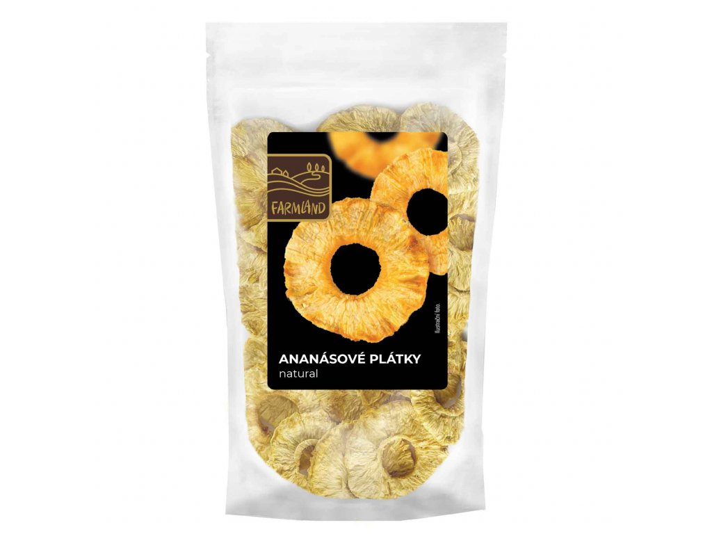 Ananas natural plátky FARMLAND 50g