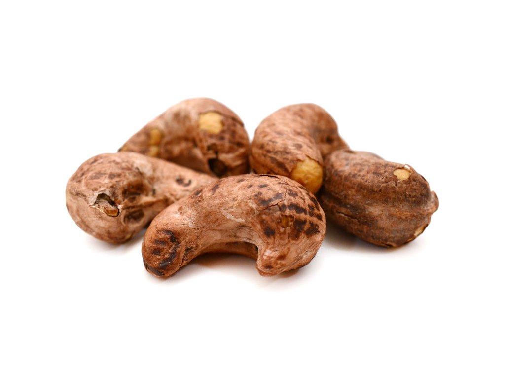 Kešu ořechy pražené solené se slupkou FARMLAND 500g
