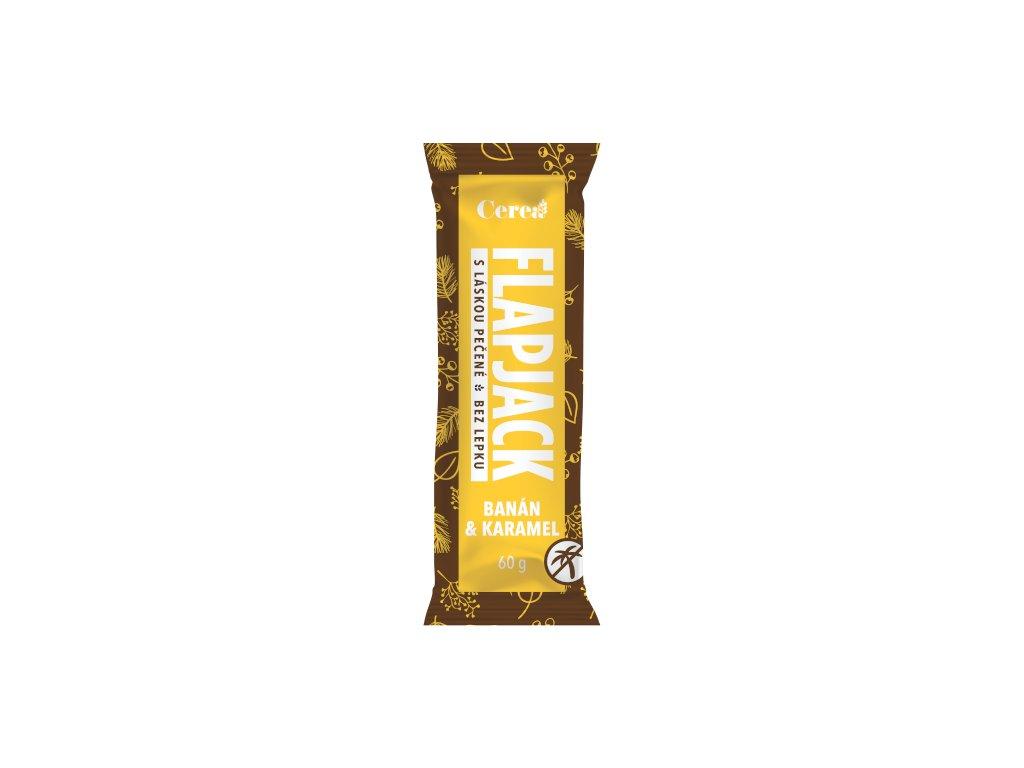 Flapjack banán-karamel CEREA 60g