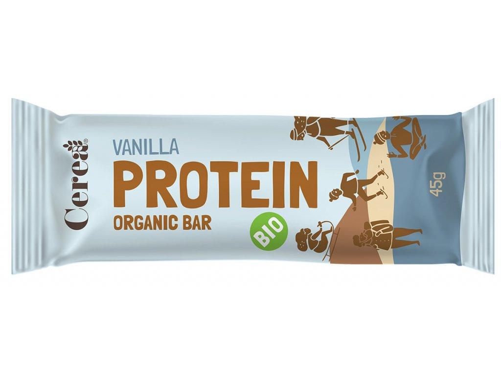 BIO Proteinová tyčinka Vanilka CEREA 45g