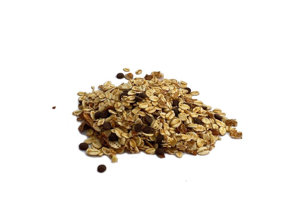 Müsli s ořechy a čokoládou FARMLAND bez obalu