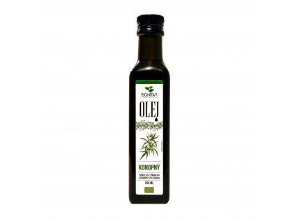bio konopny olej panensky bonitas