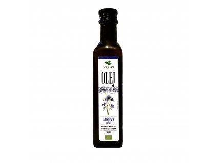 bio lneny olej bonitas 250ml