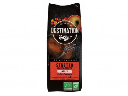 kava mleta stretto destiantion 250g