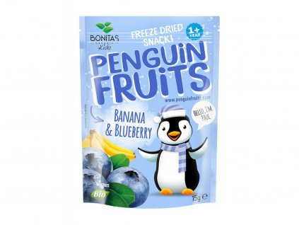 penguin fruits banan boruvka