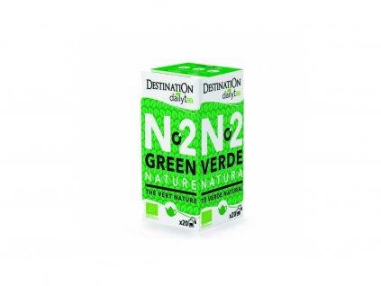 bio zelený čaj destination