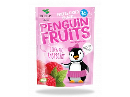 BIO Penguin Fruits Malina BONITAS 10g