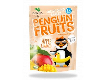 BIO Penguin Fruits Jablko & Mango BONITAS 15g