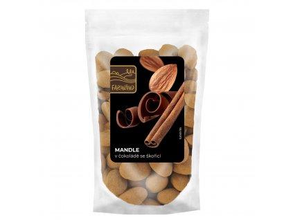 Mandle v čokoládě se skořicí FARMLAND 100g