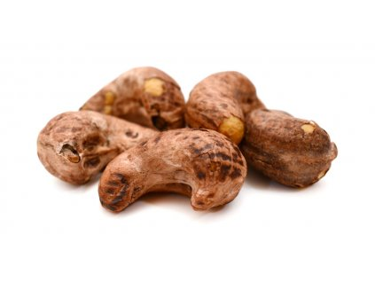 Kešu ořechy pražené solené se slupkou FARMLAND bez obalu