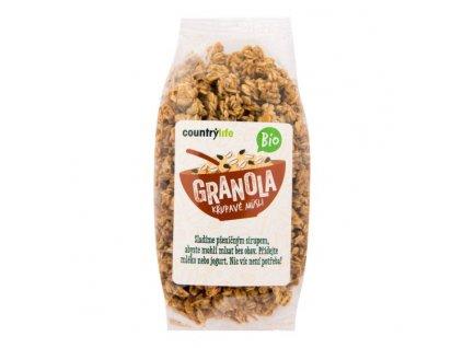 BIO Granola - křupavé ovesné müsli COUNTRY LIFE 350g