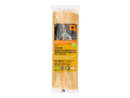 BIO Těstoviny linguine semolinové GIROLOMONI 500g
