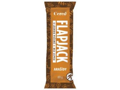 Flapjack arašídy CEREA 60g