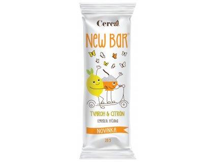 New Bar Tvaroh & Citron CEREA 33g