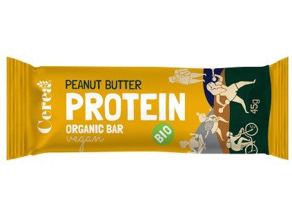 BIO Proteinová tyčinka Arašídové máslo CEREA 45g