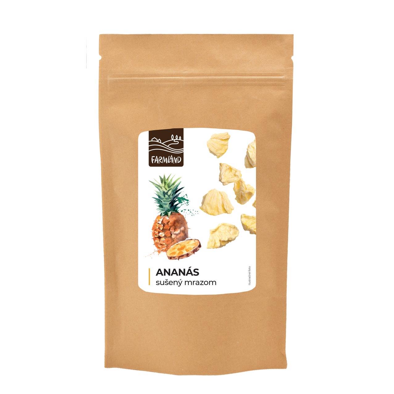 Levně Ananas sušený mrazem FARMLAND 20g