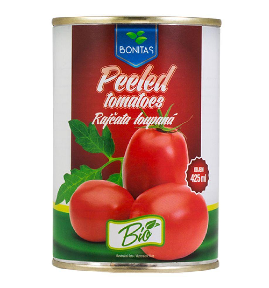 Levně BIO rajčata krájená BONITAS 425ml