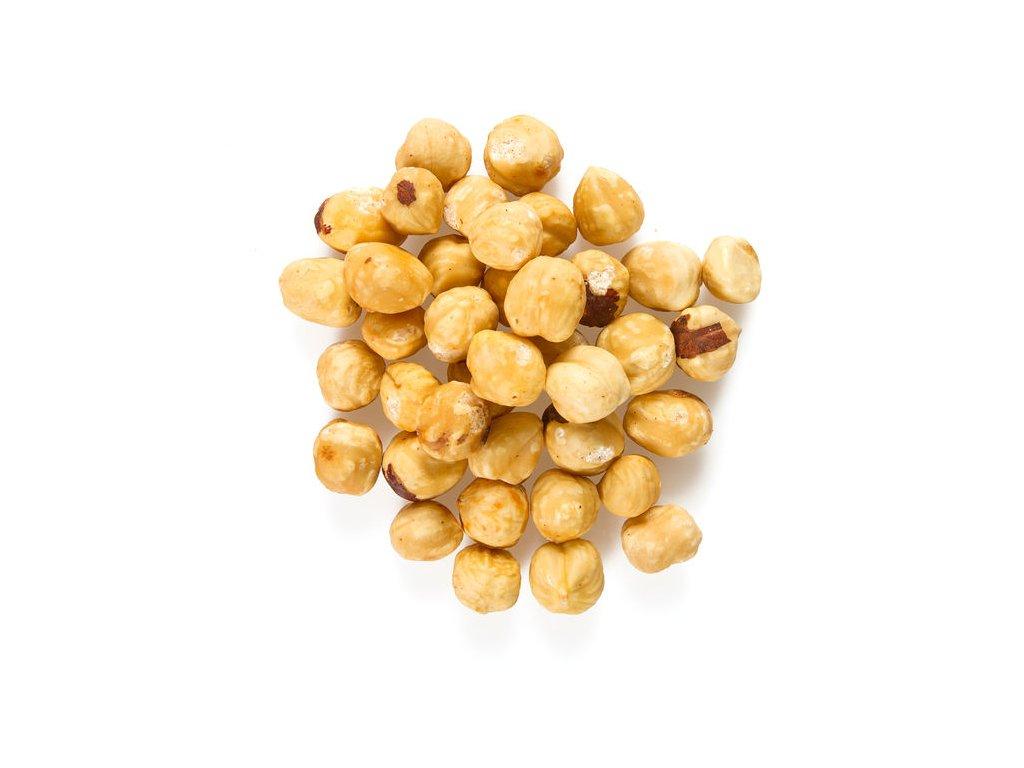 Levně FARMLAND Lískové ořechy pražené bez obalu 100g