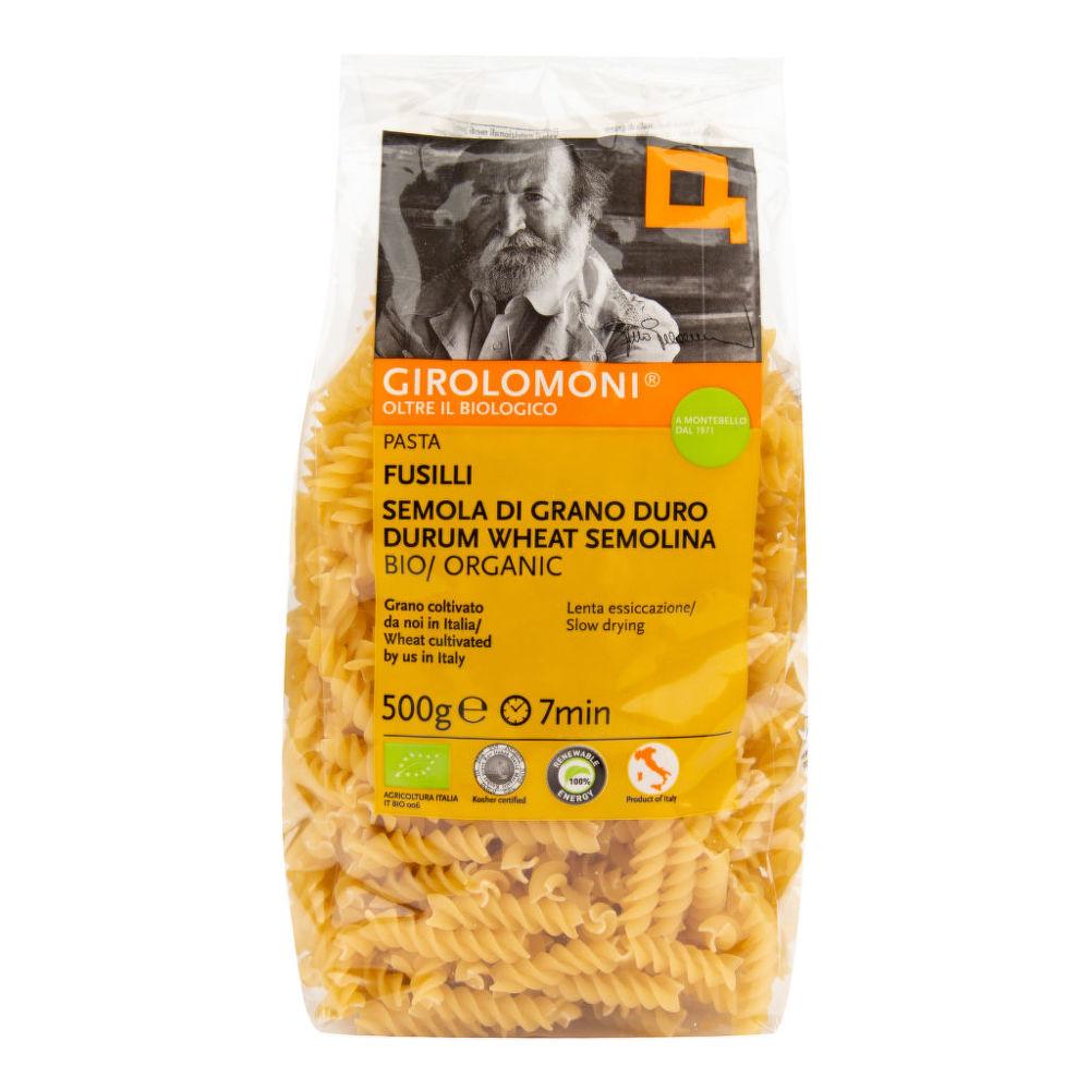 Levně GIROLOMONI BIO Těstoviny fusilli semolinové 500g