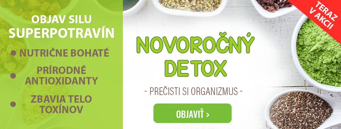 Dopraj si novoročný detox s najvýhodnejšími BIO produktami na Nutive