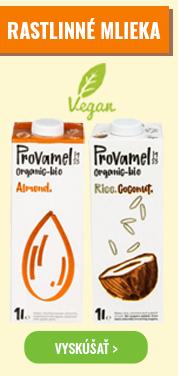 Rastlinné mlieka na nutive!