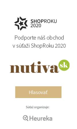 Podporte Nutivu v súťaži ShopRoku 2020