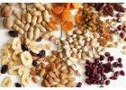 Zmesi orechov a ovocia