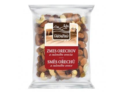 zmes orechov a sušeného ovocia