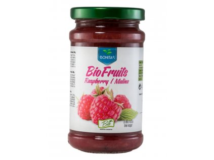 bio malinový džem bonitas